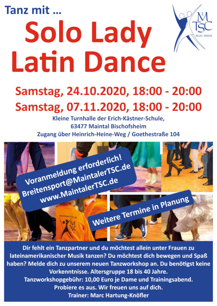 Solo Lady Latin Dance Workshop